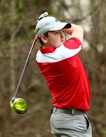 4-20-16<br /> Western vs Taylor boys golf<br /> Taylor 2 Jadon Kosberg<br /> Kelly Lafferty Gerber   Kokomo Tribune