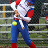 4-27-16<br /> Kokomo softball<br /> Kennedy Curl bats.<br /> Kelly Lafferty Gerber | Kokomo Tribune