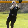 4-13-16<br /> Northwestern vs North Miami softball<br /> Terra Hedges makes the catch for an out.<br /> Kelly Lafferty Gerber | Kokomo Tribune