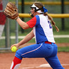 4-27-16<br /> Kokomo softball<br /> Rachel Lawson pitches.<br /> Kelly Lafferty Gerber | Kokomo Tribune