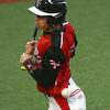 4-6-16<br /> Taylor vs Alexandria baseball<br /> Taylor's Caleb Murdock gets hit by a pitch.<br /> Kelly Lafferty Gerber | Kokomo Tribune