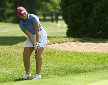 8-6-16 Kokomo girls golf 3 Sydney Murphy Kelly Lafferty Gerber | Kokomo Tribune