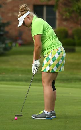8-31-16<br /> Girls Golf<br /> Eastern 1 Mariah Williams<br /> Kelly Lafferty Gerber | Kokomo Tribune