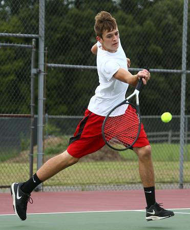 8-30-16<br /> Taylor tennis<br /> 3 singles Colton Kimbler<br /> Kelly Lafferty Gerber   Kokomo Tribune