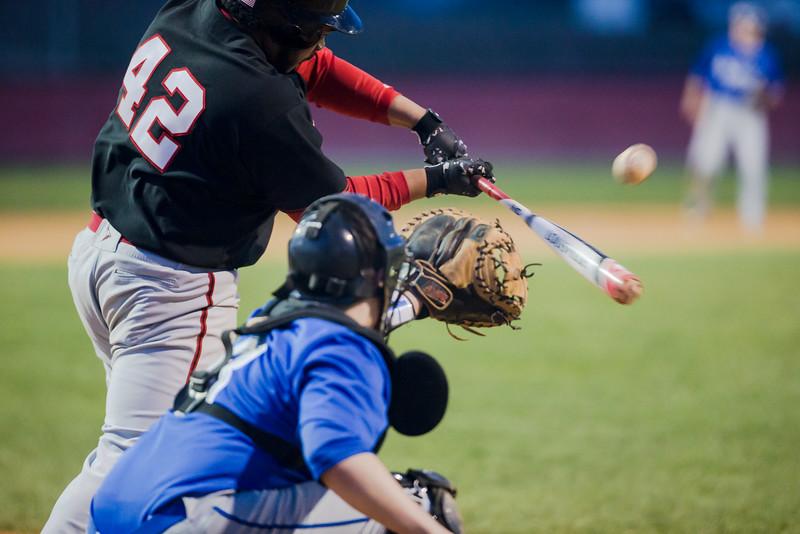 ERHS'  Eric Jackson at bat.