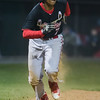 ERHS' Jaylen McNair leads off third base