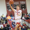 Logan Comer goes in for a layup