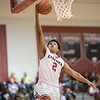 Jaylin McNair goes up for a layup