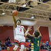 Jaylen McNair goes in for a layup