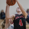 Madison Shifflett goes up for a layup.