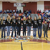 2012 State Championship Team is recognized between the varsity girls and boys game.