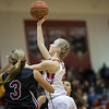 Madison Shifflett goes in for a layup