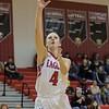 Madison Shifflett takes a jump shot