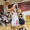 Kaitlyn Todd goes for a layup after finding a hole in the Gap defense