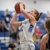 Brooke Vetter goes up for a shot.