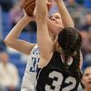 Brooke Vetter goes up against Makayla Cyzick
