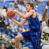 Cameron Irvine goes up for a layup