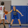 Brooke Vetter guards Davina Lane