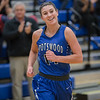 Addisen DeLucas is all smiles after scoring her 1,000 point