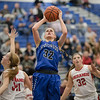 Brooke Vetter goes up for a jump shot