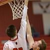 Dalton Jeffernson pushes the ball in