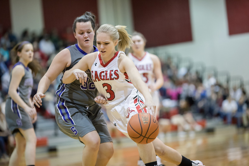 Haley Cave pushes in by Haley Bischoff