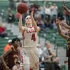 Madison Shifflett takes a jump shot wile left open
