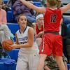 Kaleigh Roadcap looks to pass