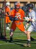 Boys Jumior Varisty Lacrosse. Union-Endicott Tigers at Corning Hawks. April 20, 2016