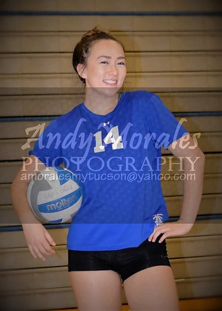 2016 Catalina Foothills girls volleyball