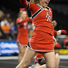 Sophmore Grace Rogers performs during the dance portion of the routine.