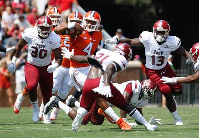 NCAA Football: #2 Clemson. vs. Troy