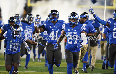 The Kentucky Wildcats take the field Saturday eveing against Georgia.  MARTY CONLEY/ FOR THE DAILY INDEPENDENT