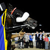 Don Knight |  The Herald Bulletin<br /> Dan Patch at Hoosier Park on Friday.