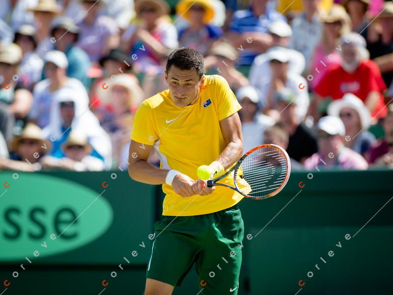 2016 Davis Cup Round 1 Australia vs USA