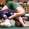 12-29-16<br /> Eastern vs Northwestern wrestling<br /> Eastern's Aren Turner defeats Northwestern's Brady Henry in the 138.<br /> Kelly Lafferty Gerber | Kokomo Tribune