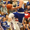 12-16-16<br /> Cass vs Tipton boys basketball<br /> Tipton's Lukas Swan goes to the basket.<br /> Kelly Lafferty Gerber | Kokomo Tribune