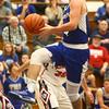 12-16-16<br /> Cass vs Tipton boys basketball<br /> Tipton's Lukas Swan goes to the basket.<br /> Kelly Lafferty Gerber | Kokomo Tribune