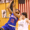 12-6-16<br /> Kokomo vs Western girls basketball<br /> Kokomo's Tevin Deckard shoots.<br /> Kelly Lafferty Gerber | Kokomo Tribune
