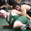 12-29-16<br /> Eastern vs Northwestern wrestling<br /> Northwestern's Patrick Harris defeats Eastern's Asher Walden in the 195.<br /> Kelly Lafferty Gerber | Kokomo Tribune