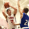 12-16-16<br /> Cass vs Tipton boys basketball<br /> Cass' Kace Kitchel shoots.<br /> Kelly Lafferty Gerber | Kokomo Tribune