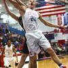 12-3-16<br /> Kokomo vs Lebanon boys basketball<br /> Kokomo's Anthony Barnard goes after a rebound.<br /> Kelly Lafferty Gerber | Kokomo Tribune