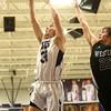 12-2-16<br /> Northwestern vs Western boys basketball<br /> <br /> Kelly Lafferty Gerber | Kokomo Tribune