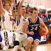 12-16-16<br /> Cass vs Tipton boys basketball<br /> Tipton's Carson Dolezal looks to get around Cass defense.<br /> Kelly Lafferty Gerber | Kokomo Tribune