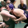 12-29-16<br /> Eastern vs Northwestern wrestling<br /> Northwestern's Evan Cardwell defeats Eastern's Ben Cole in the 170.<br /> Kelly Lafferty Gerber | Kokomo Tribune