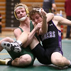 12-29-16<br /> Eastern vs Northwestern wrestling<br /> Eastern's Dakota Spencer defeats Northwestern's Dakota Simons in the 145.<br /> Kelly Lafferty Gerber | Kokomo Tribune