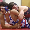 12-13-16<br /> Kokomo vs Logansport wrestling<br /> Logansport's Paxton Thomas defeats Kokomo's Z. Hall in the 152.<br /> Kelly Lafferty Gerber | Kokomo Tribune