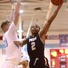 12-29-16<br /> Maconaquah vs Peru boys basketball<br /> Peru's Jeremiah Johnson shoots.<br /> Kelly Lafferty Gerber | Kokomo Tribune