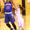 12-6-16<br /> Kokomo vs Western girls basketball<br /> Jayda Andrews shoots.<br /> Kelly Lafferty Gerber | Kokomo Tribune