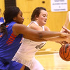 12-6-16<br /> Kokomo vs Western girls basketball<br /> Kokomo's Aubrion Woodard and Western's Caylan Fields go after the ball.<br /> Kelly Lafferty Gerber | Kokomo Tribune
